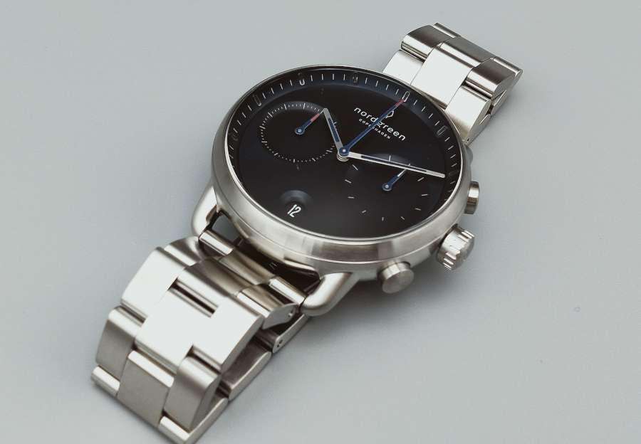 Nordgreen Pioneer chronograph front