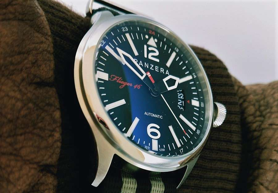 Panzera Hornet Special Flieger 46 pilot's watch review