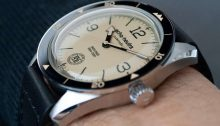 echo/neutra Cortina 1956 Automatic bezel