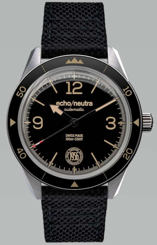 echoneutra Cortina 1956 Automatic black