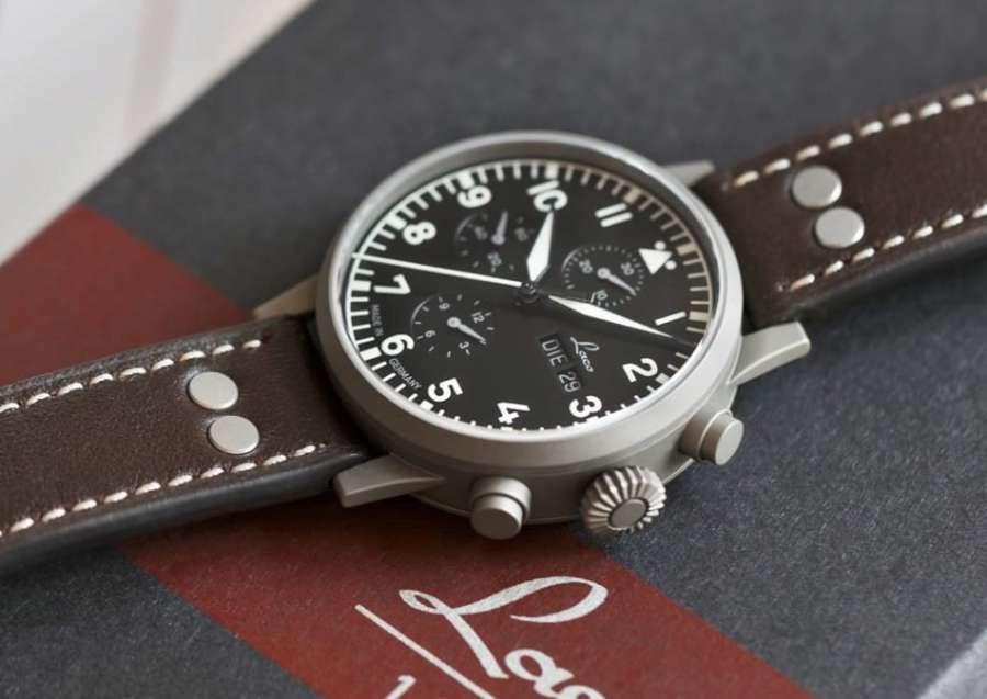Laco Munchen pilot chronograph