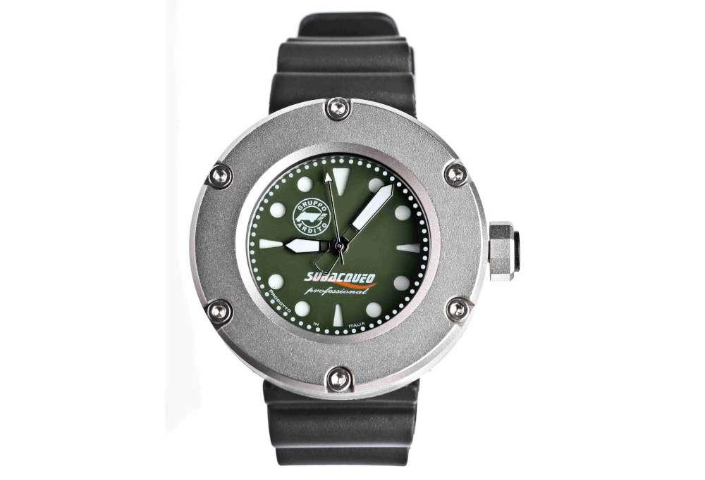 Gruppo Ardito Watches GAW NumeroZero steel professional diving watch