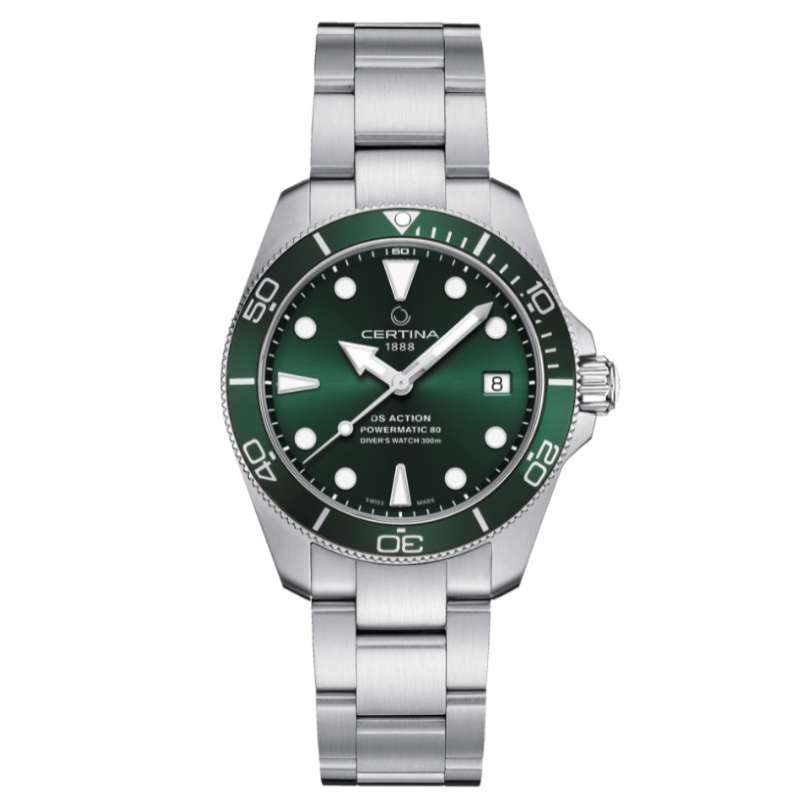Certina DS Action Diver C032.807.11.091.00_SLD ISO 6425 compliant diver's watch