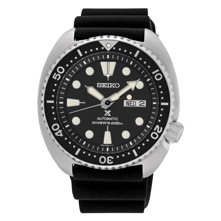 Seiko SRP777K1 Turtle ISO 6425 compliant diver's watch