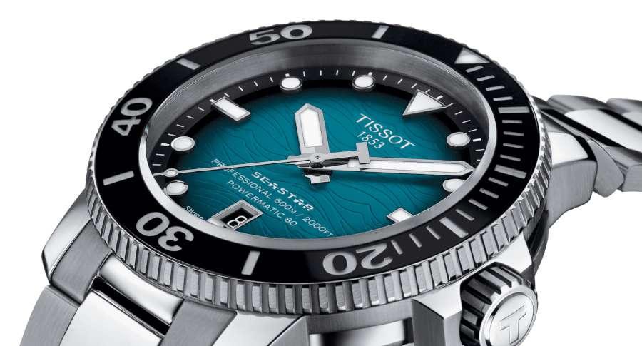 Tissot Seastar 2000 Professional Powermatic 80 ISO 6425 compliant diver's watch