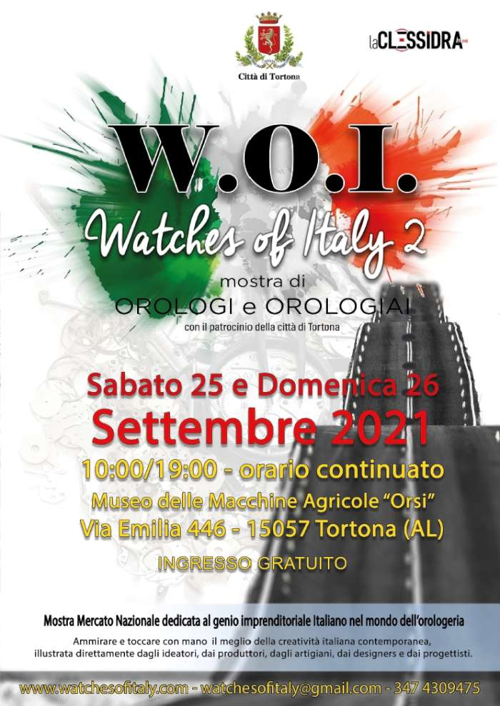 Watches Of Italy poster 2021