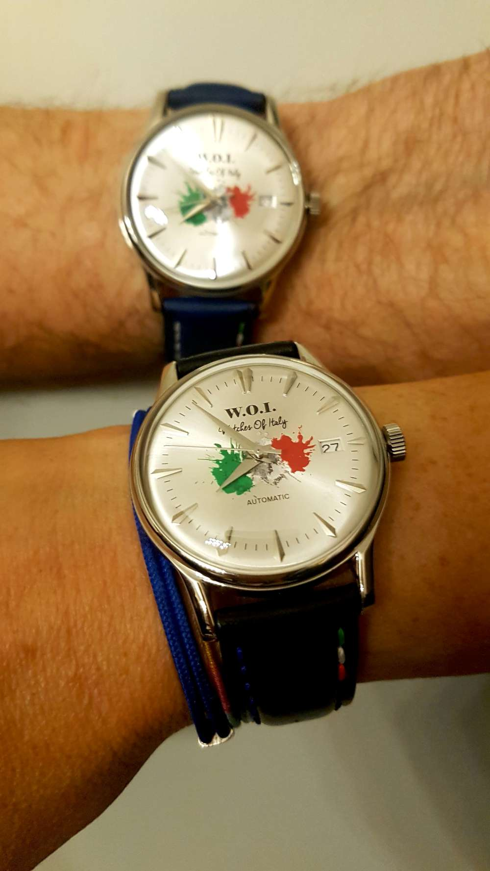 Watches Of Italy two custom watches