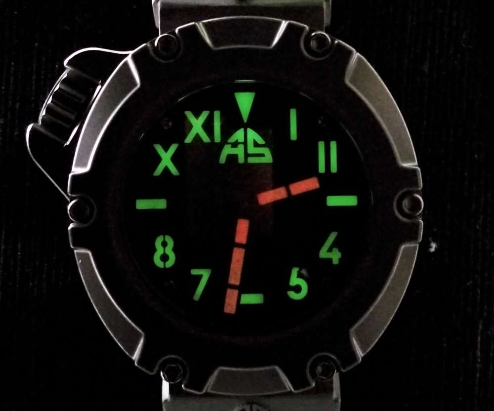 AS Watches B1S lume