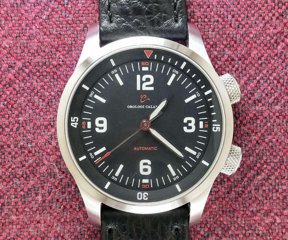 Calamai MC 72 pilot's watch