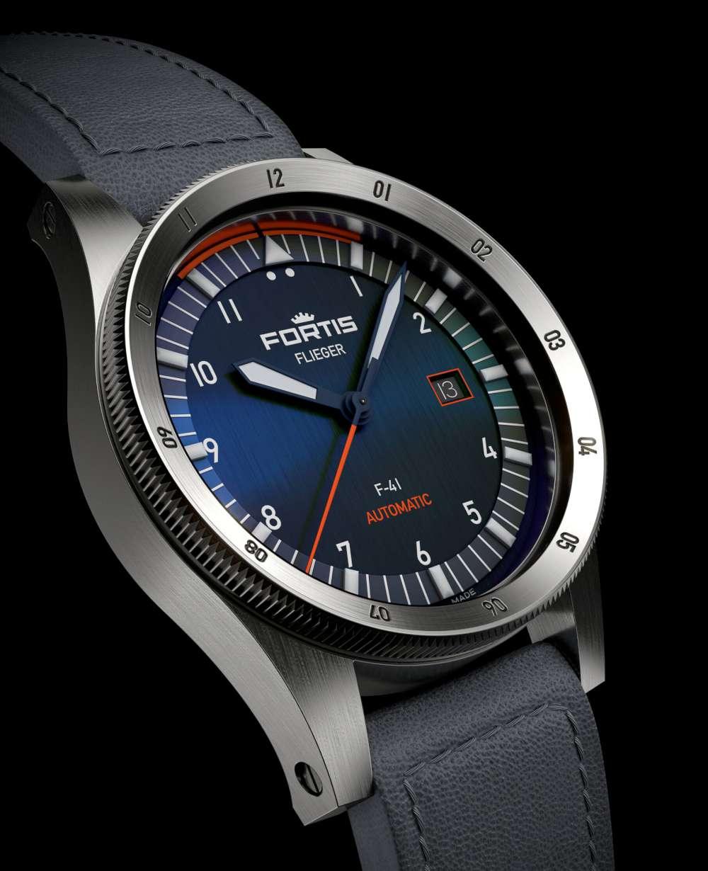 Fortis Flieger Midnight Blue F-41