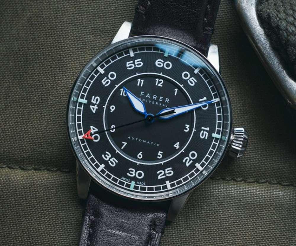 Farer Morgan pilot's watch