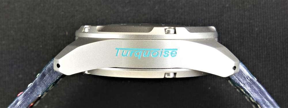 Gruppo Ardito Watches Turquoise caseband