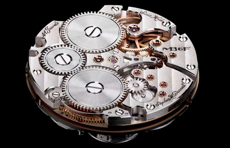 MBandF Legacy Machine Perpetual Calendar Palladium by Stephen McDonnell