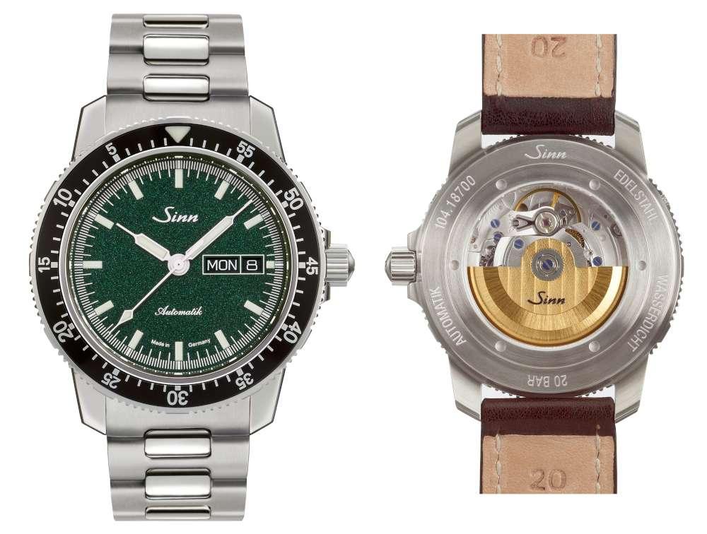 Sinn 104 St Sa I MG pilot's watch