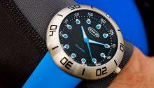 Ikepod diving watch Seapod S002 Jacques S002-SI-LN