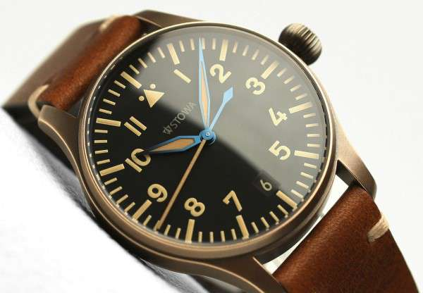 Stowa Flieger Bronze Vintage 36 pilot's watch