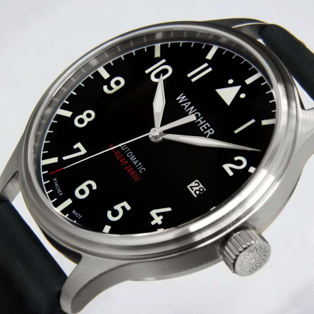Wancher Flugel pilot's watch